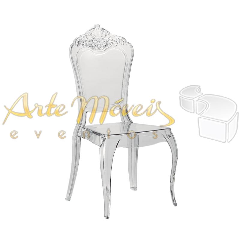 Cadeira Veneza Branca com Almofada