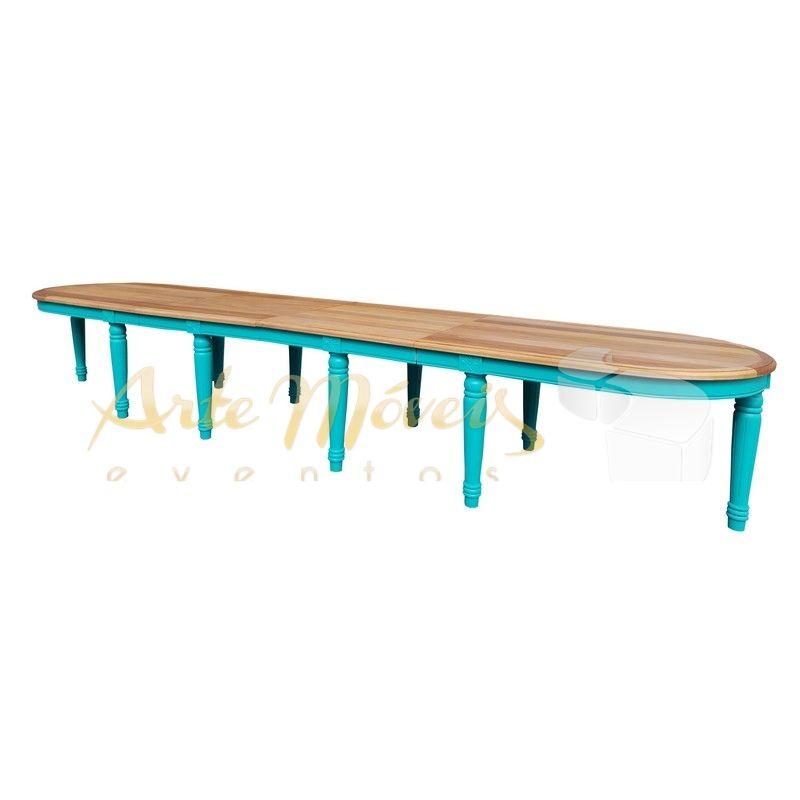 Mesa Inglesa 5,00 x 1,00 para Pintura - pode ser em mais de 100 tonalidades